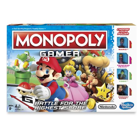- Monopoly Gamer Board-game, Ages 8 and up