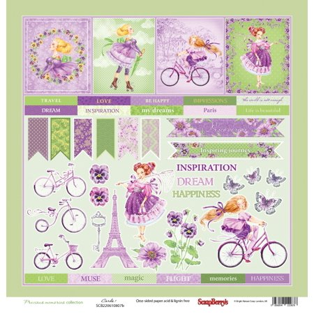 Scrapberry's Precious Memories Single-Sided Cardstock 12X12-Cards #1 - image 1 de 1