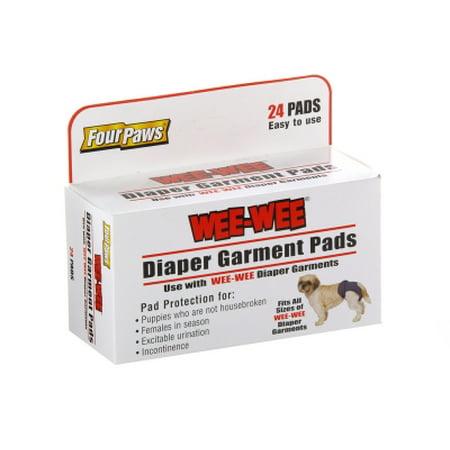 Four Paws Wee Wee Dog Box Pgbl Pet Dpr Grmnt Pad Walmartcom