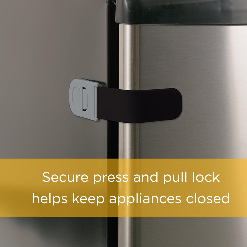 Safety 1st Multi-Purpose Appliance Lock (2pk), Black - Walmart.com