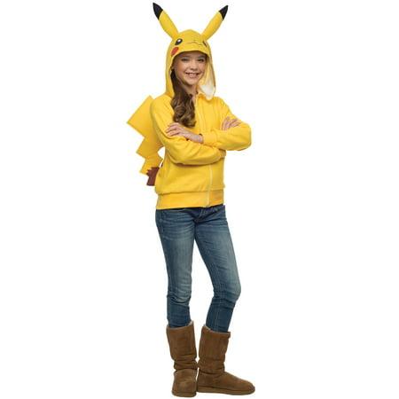 Pikachu Hoodie Tween Costume