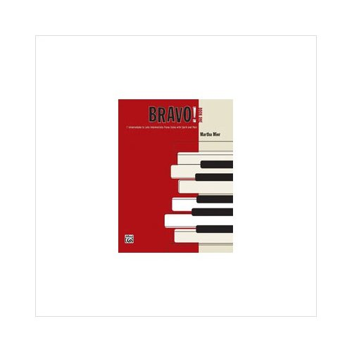 Bravo! - Book 1 - Piano - Intermediate/Late Intermediate