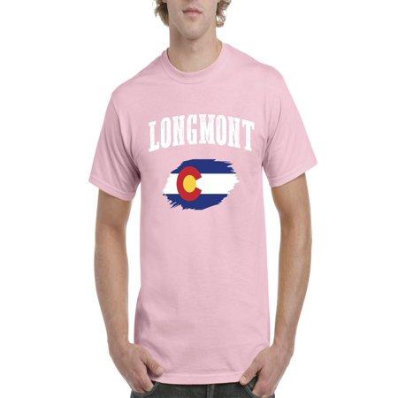 Longmont Colorado Men Shirts T Shirt Tee