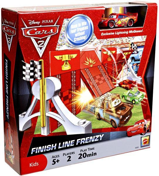 Disney Cars Cars 2 Finish Line Frenzy Exclusive 1:55 Diecast Car