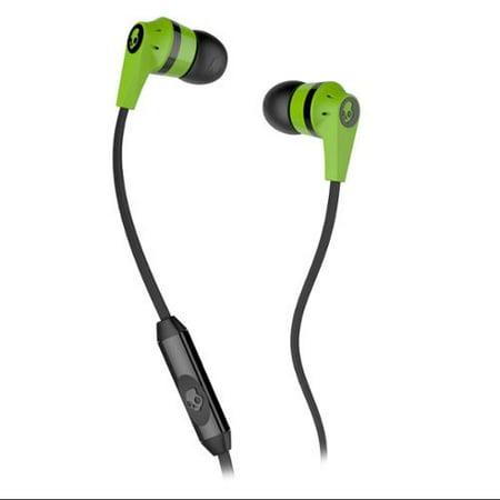 Skullcandy Inkd 2 0 Earbud Headphones  Lime Green    S2ikfy 323   New