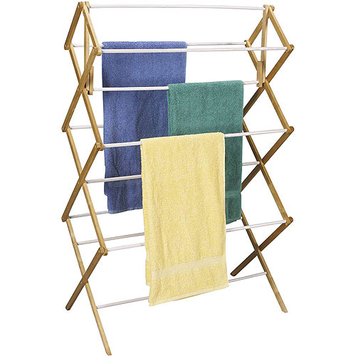 Household Essentials Oversized Mega Wood Laundry Dryer