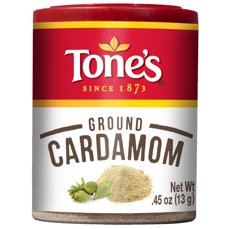 Tones Cardamom, Ground