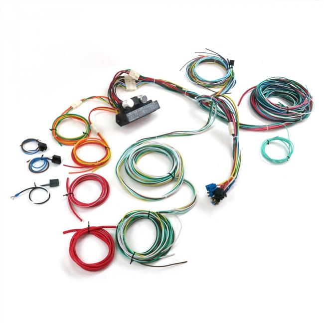 Ultimate 15 Fuse 12V Conversion Wiring Harness for 1940 Ford - Walmart.comWalmart