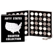 WalterDrake Commemorative State Quarters Black White Album