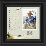 Retirement, Acronym about the joy of retirement, Personalized Picture Frame 10x10 6768