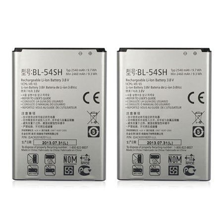 Replacement LG L90 Li-ion Mobile Phone Battery - 2500mAh / 3.7v (2