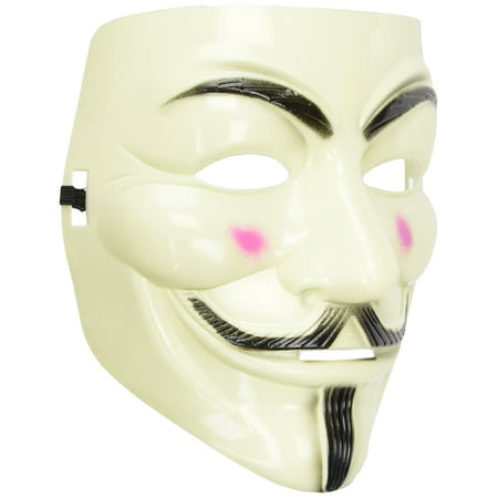 V for Vendetta Mask For Costume Party Halloween Carnival - Halloween Mask Paper Plate