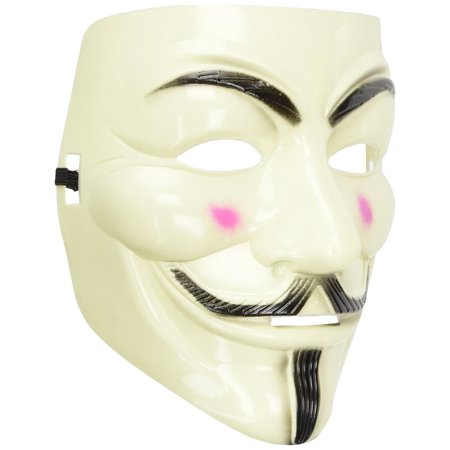 V for Vendetta Mask For Costume Party Halloween - Halloween Mask Art Projects