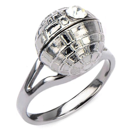 Star Wars Death Star 3D Women's Ring](Star Wars Plastic Rings)