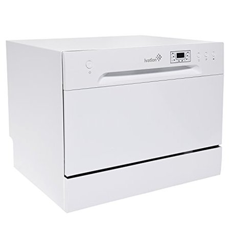 Ivation Portable Dishwasher – Countertop Small Compact Dishwasher ...