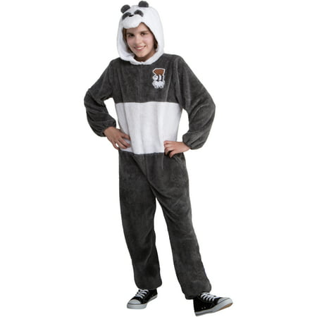 We Bare Bears Panda Onesie Teen Costume](Panda Costume Homemade)
