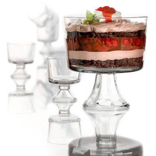 Anchor Hocking Presence 5-Piece Trifle Bowl Set