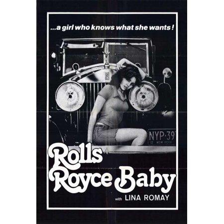 rolls royce baby poster movie (27x40) - walmart