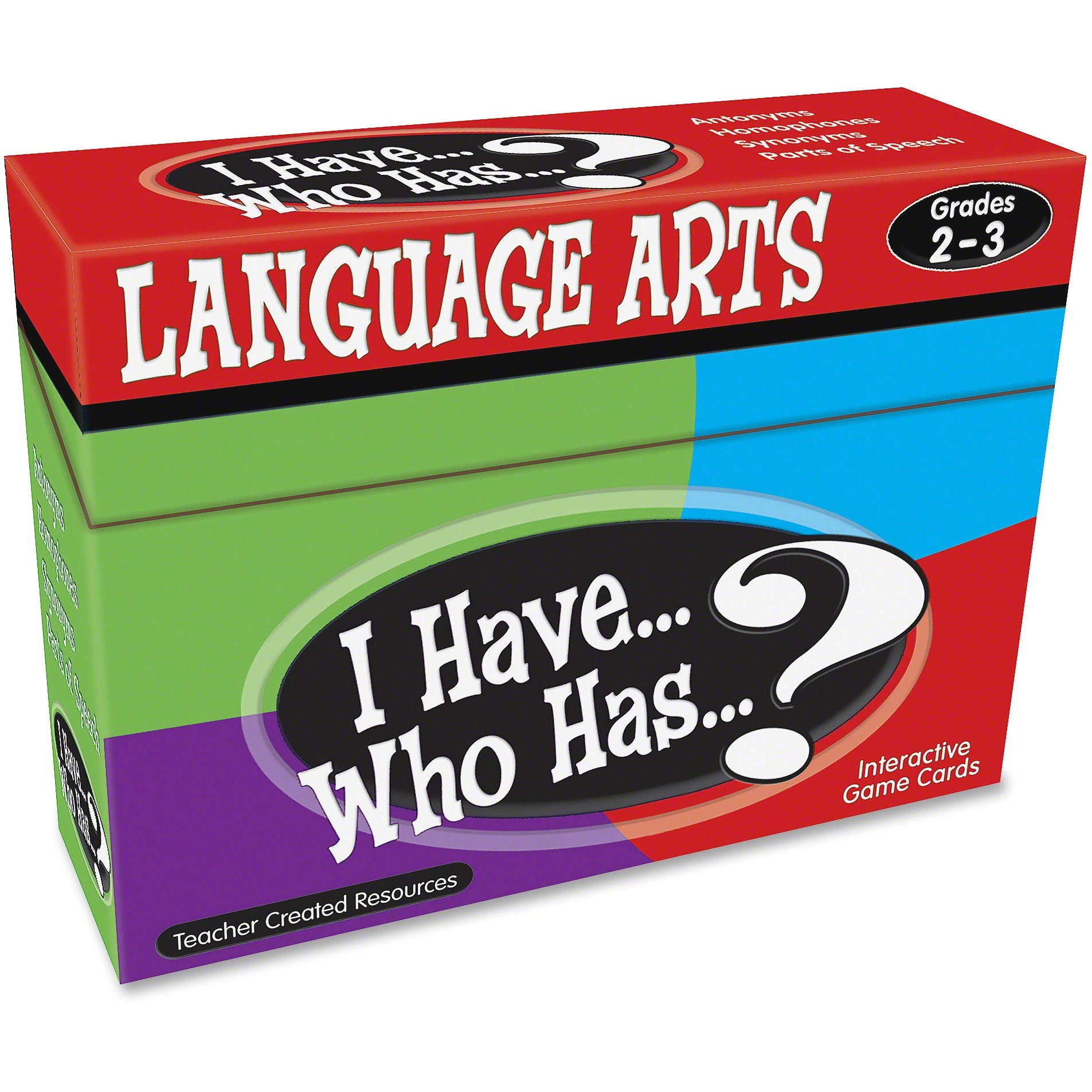 Teacher Created Resources, TCR7813, Grades 2-3 Language Arts Game, 1 Each, Multi
