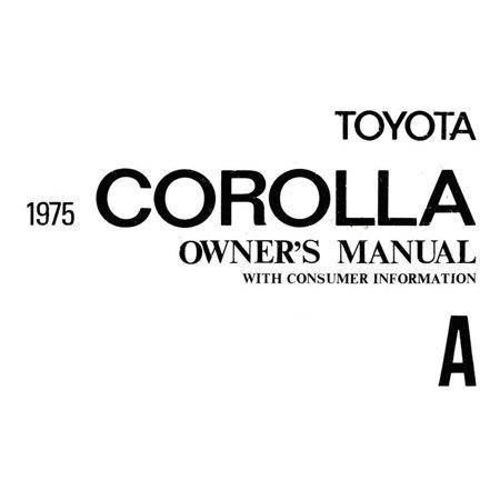 Bishko OEM Maintenance Owner's Manual Bound for Toyota