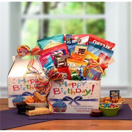 Gift Basket Drop 819772 Make A Wish Birthday Care - Cure Gift