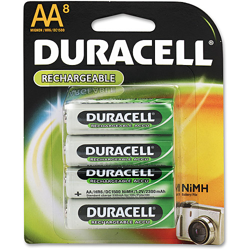 Duracell Aa8 Nimh Rechargeable