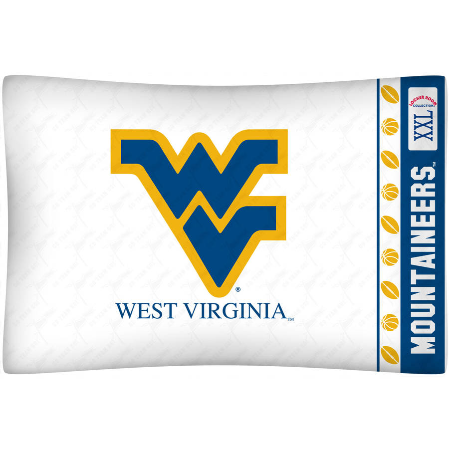 NCAA West Virginia University Micro Fiber Pillow Case