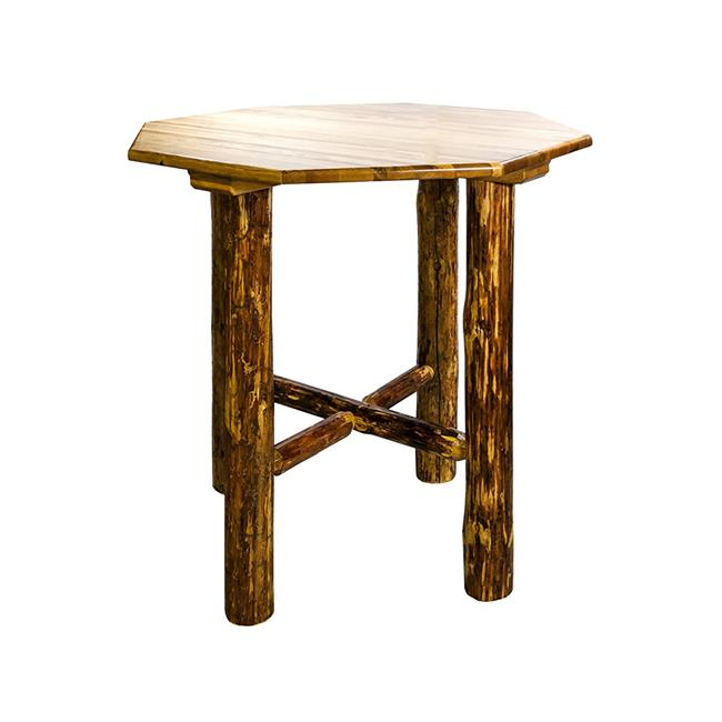 Glacier Country Bistro Table, Stained & Lacquered