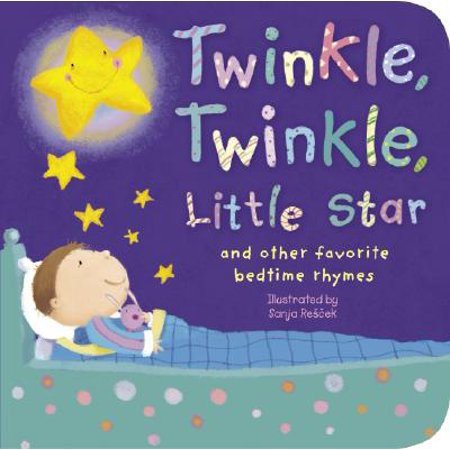 Twinkle, Twinkle, Little Star: And Other Favorite Bedtime Rhymes (Board - Twinkle Twinkle Little Rockstar