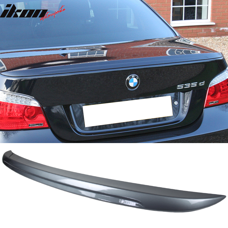Fits 04-10 BMW 5 Series E60 4Dr Sedan M5 ABS Rear Trunk Spoiler