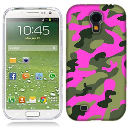 Mundaze Pink Camo Phone Case Cover for Samsung Galaxy S4