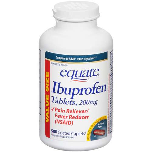 Equate Ibuprofen Tablets, 200mg - 500ct