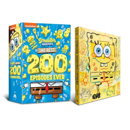 Best Tv Show Halloween Episodes (SpongeBob SquarePants: The Best 200 Episodes Ever Bundle (Walmart Exclusive) (DVD + Spongebob SquarePants Experience)