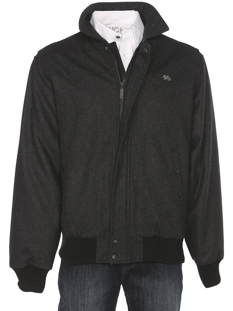 Miller International Mens Charcoal Wool Jacket by MILLER INTERNATIONAL