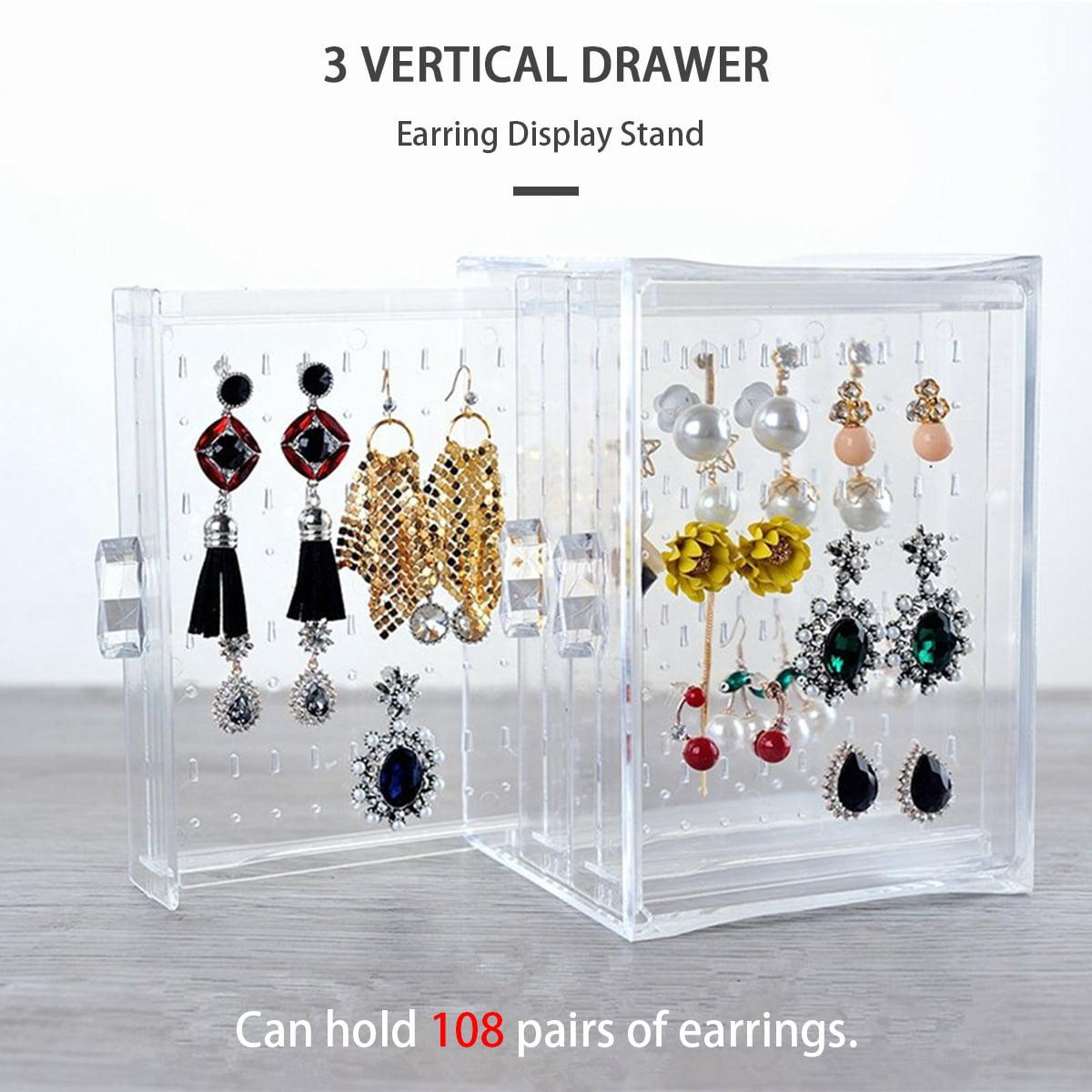 Jewelry Holder Earring Box Organizer Earring Stand Earring Organizer Jewelry Organizer Earring Holder Earring Display