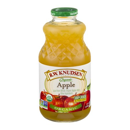 R.W. Knudsen Organic 100% Fruit Juice, Apple, 32 Fl Oz, 1 Count