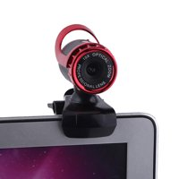 FAGINEY PC Camera,Web Camera,USB 2.0 12M Pixels Clip-on Webcam Web Camera HD 360° Rotating Stand Built-in Microphone for PC
