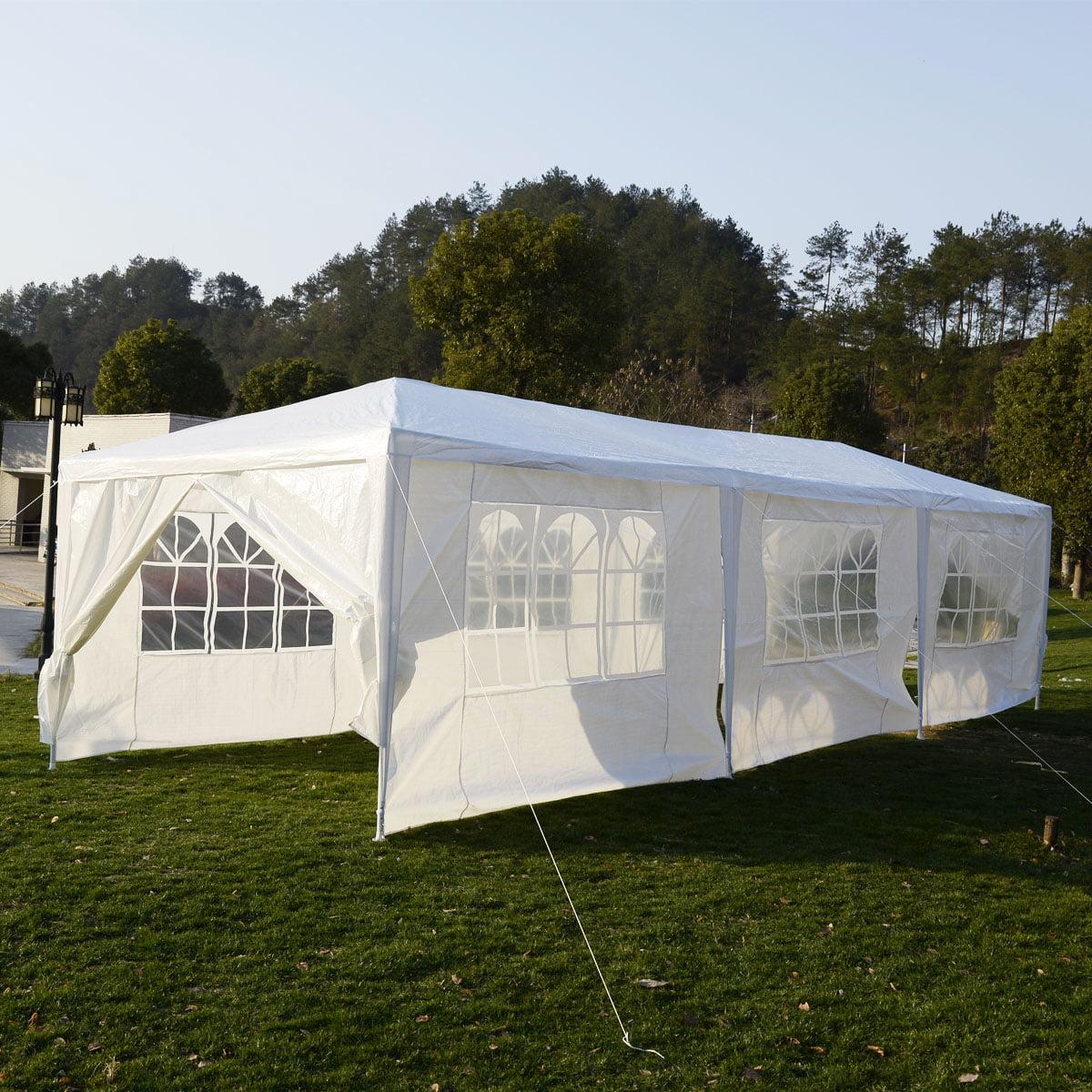 Ktaxon New 10u0027x30u0027 Party Wedding Outdoor Patio Tent Canopy Heavy duty Gazebo Pavilion with 8 Side Walls - Walmart.com & Ktaxon New 10u0027x30u0027 Party Wedding Outdoor Patio Tent Canopy Heavy ...