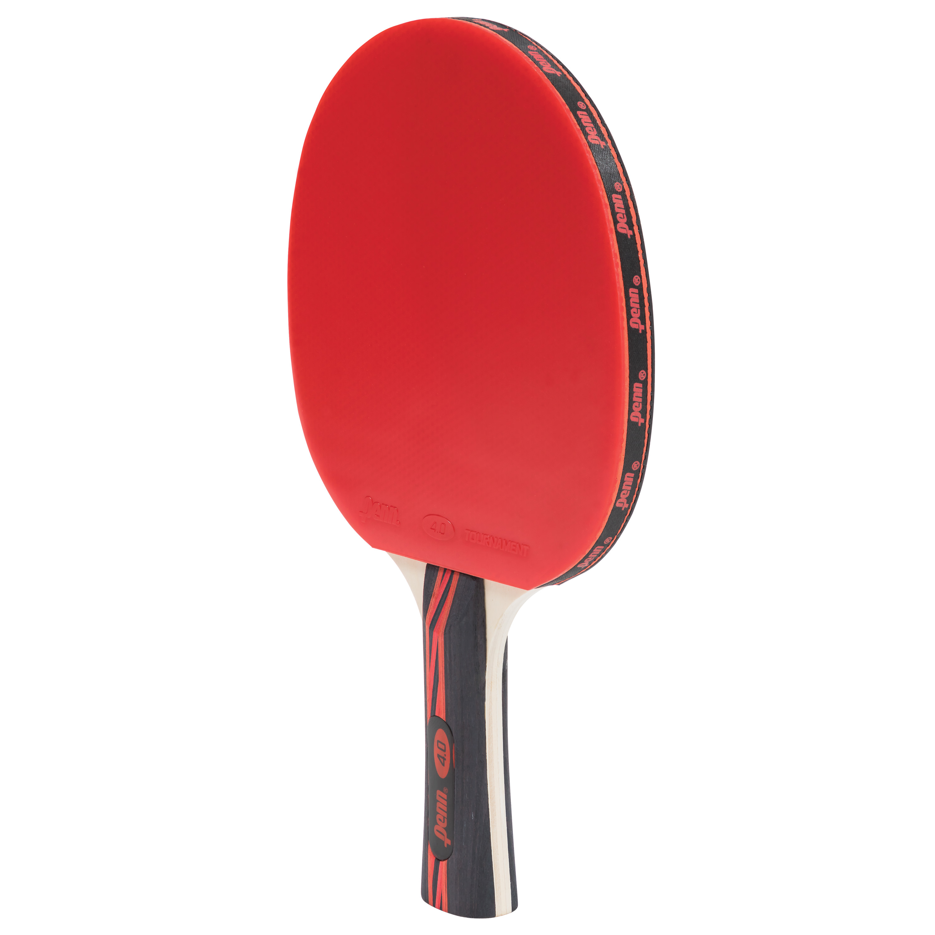 Penn 4.0 Tour Ping Pong Table Tennis Paddle, Red