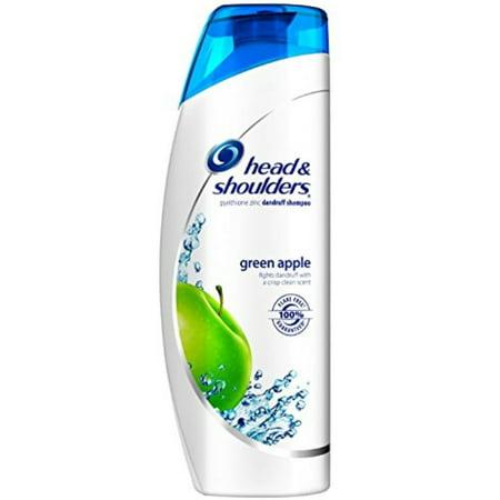 2 Pack - Head & Shoulders Dandruff Shampoo Green Apple 14.20