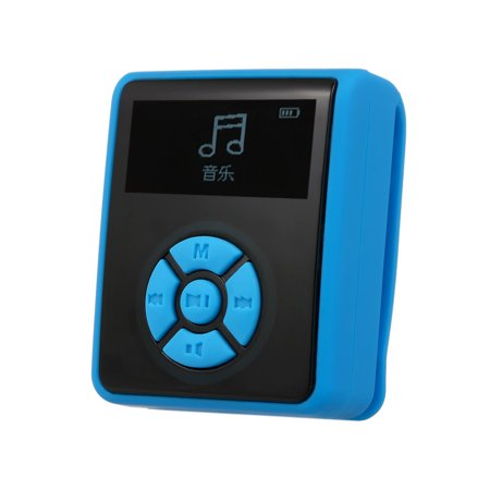 IPX7 Waterproof MP3 Player 8GB Music Player with Headphones FM Radio for Swimming Running Diving Support Pedometer Waterproof Mp3 Watch