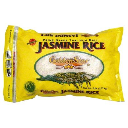 Golden Star Jasmine Rice  5 Lbs
