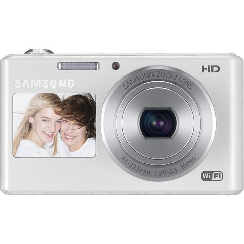 Samsung DV150F 16.2MP Smart WiFi  Digital Camera with 5x ...