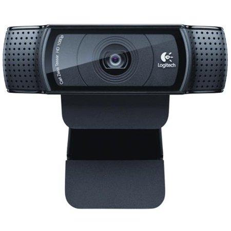 Logitech C920 Webcam - 30 fps - Black - Auto-focus - Widescreen