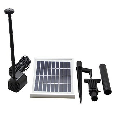 - asc 2.5 watt solar water pump kit for fountain pool and pond direct sunlight