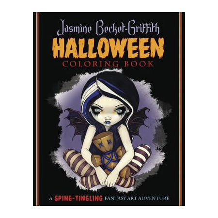 Jasmine Becket-Griffith Halloween Coloring Book : A Spine-Tingling Fantasy Art Adventure - Halloween Fantasy Hairstyles