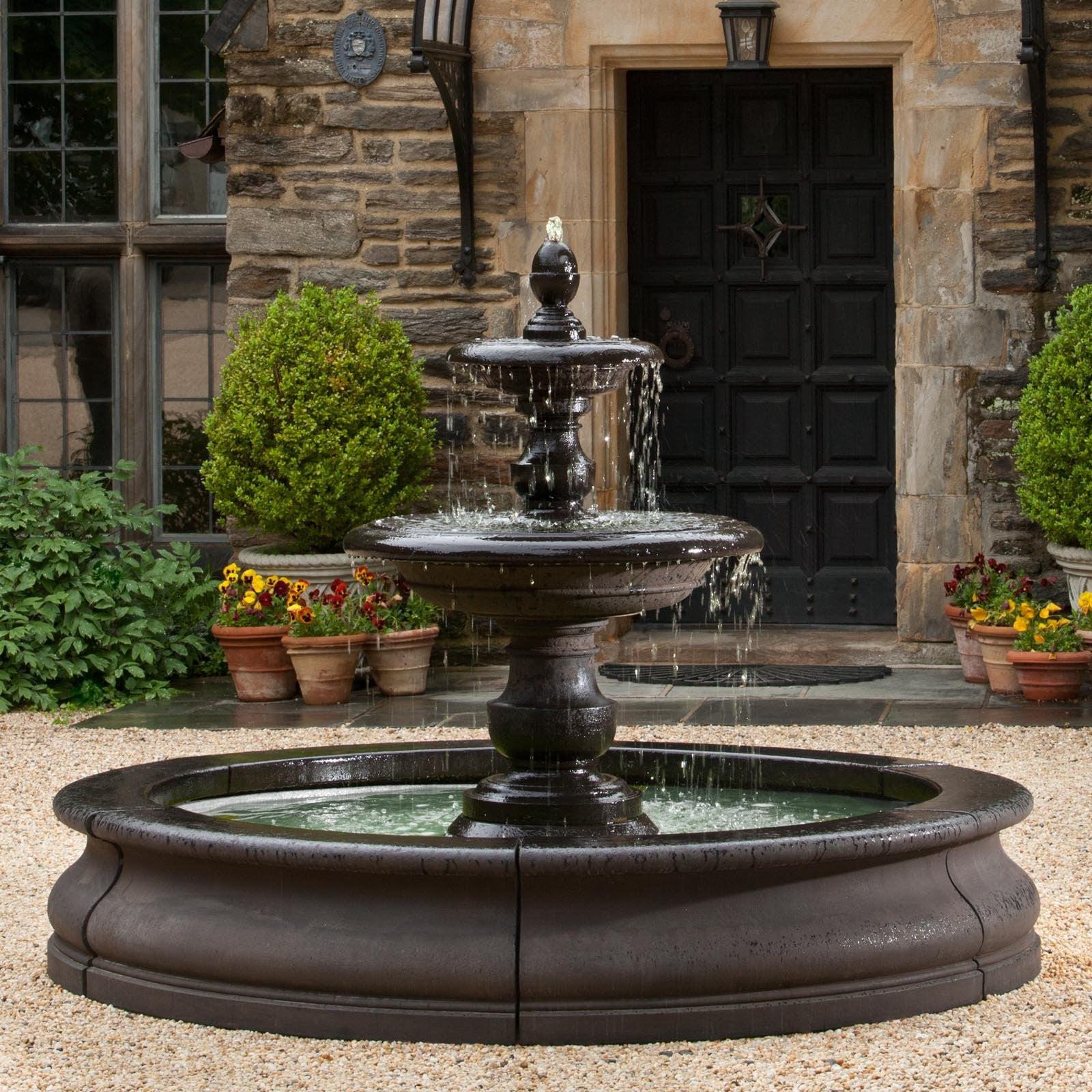 Campania International Caterina Cast Stone Fountain