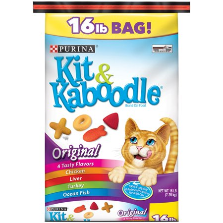 Kit And Kaboodle Cat Food  Lb