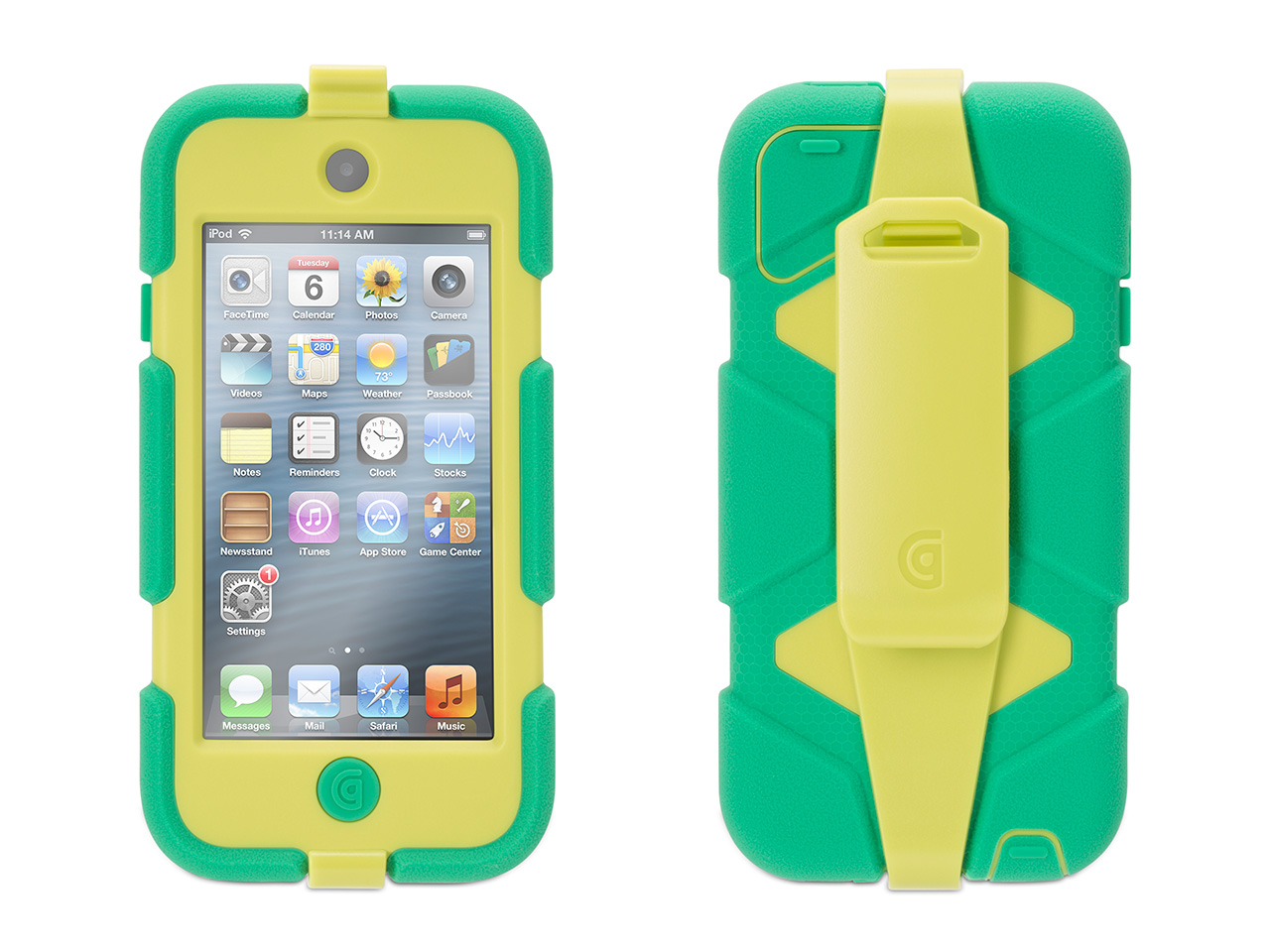 low priced 71ffc 80d30 Griffin Survivor All-Terrain for iPod touch (5th/6th gen.), , Featuring the  #1 best-selling case for iPod touch (5th, 6th generation)*