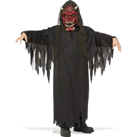 Hell Raiser Boys Devil Lucifer Demon Child Halloween Costume](Halloween Demon Costume)